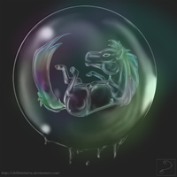 Bubble Pony by ChibiMimiru