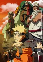 Naruto calendario 2012 color by humbertox1