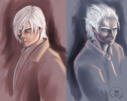 Devils May Cry WIP by pandatails