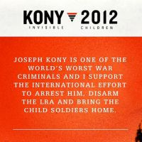 KONY 2012 by peaceofthesea