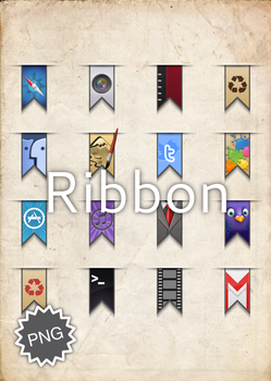 Ribbon Icons by giovanniRossi