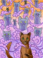 Demon Cats by Dany-the-Hell-Fox