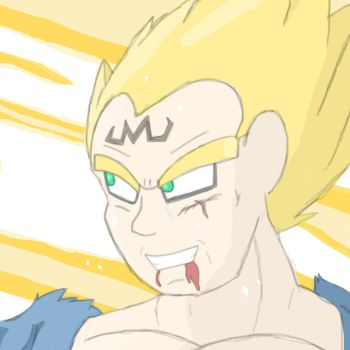 Vegeta's Final Atonement by Screenshot-Saga