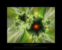 Fractal Bouquet by d-b-c