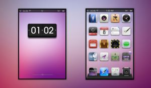 Pink Remix - iOS 5 by pracomass