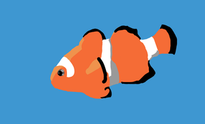 Simplistic ClownFish by EaGeR-BVeR