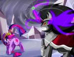 Losing Battle.....For the Crystal Empire by Rubynite