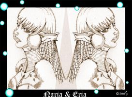 Naria and Eria by Aidyl