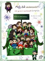 Second aniversary by Chely2006