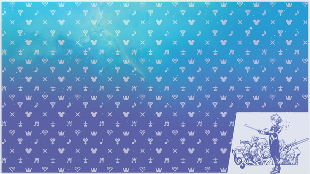 Kingdom Hearts World Tour Background by DrBoxHead