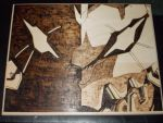 Eva Unit 01 woodburning by cutiechibi