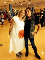 Fem!Dean and Mary Winchester-Supercon 2014 by brisi123