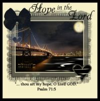 HOPE IN THE LORD by HumbleLuv