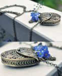 Love-letter  necklace by Holunder