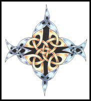 Coloured Celtic by IndustrusDesign