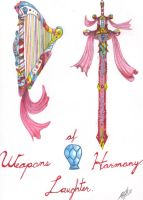 Weapons of Harmony (Laughter) by Darka01