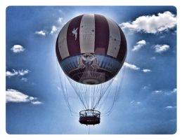 Hot Air Balloon by KWilliamsPhoto