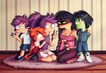 Futurama NG Family by MissFuturama