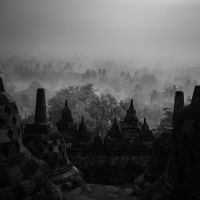 The Borobudur Temple by Hengki24