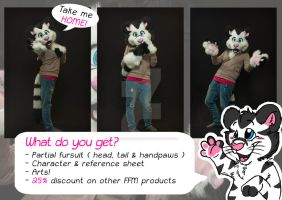 I AM FOR SALE! by FurryFursuitMaker