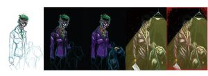 Killing Joke Progression by colepetersonart