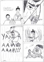 Samurai jack takes the cake by TheCommissarFangirl