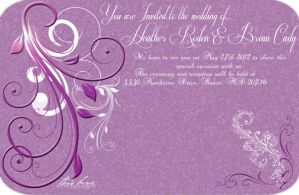 Wedding invite WIP by Pixelated-Beauty