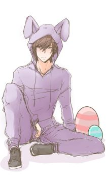 Grumpy Easter Bunny by adrianaloleng