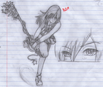 Kairi Action pose by i-love-chi