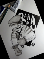 THE GOON by willymerry