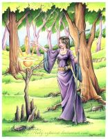 Lady of the Woods by lady-cybercat