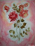 Roses in Shabby Chicness by Anj3lla