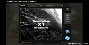 Generation X 1 Template by flashdo