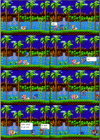 sonic sprite funnies: too late sonic by supersilver27