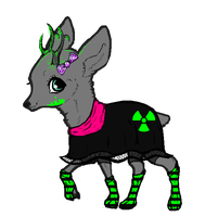 Deer adoptable (OPEN) by Kat-and-Raven-ADOPTS