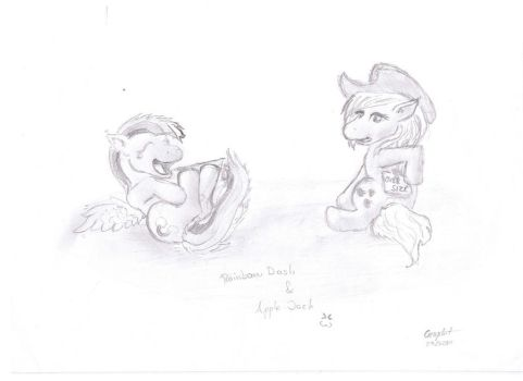 MLP First drawing by Grav-staR