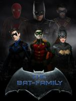 The Bat-Family by Asthonx1