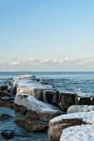 Lake Erie Ice Cubes by shaguar0508