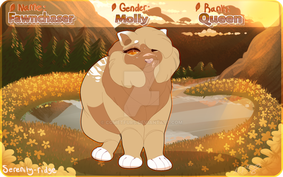 Fawnchaser : SR by cometfurs