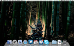 My OSX Desktop DUM SPIRO SPERO by BlackCross616