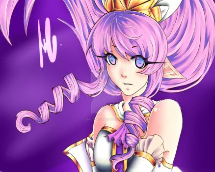 Star Guardian Janna ! Legaue of Legends by 2salty4porn