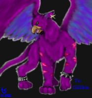 Cheshire Gryphon by LastHarliquin