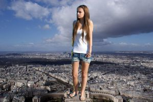 teen giantess by artcoops