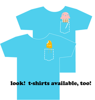 wocket icecream T-SHIRTS EDIT by ilovegravy
