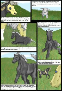 Story of the fallen- PAGE ONE by arcadia-the-lich
