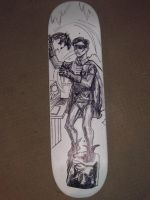 ROBIN skateboard deck 03 by ztenzila