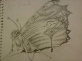butterfly by dieistoday
