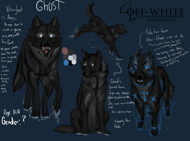 Ghost ref sheet by NeonDefined