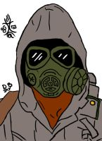 Gas mask by Draconian12