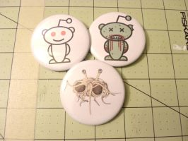 Reddit buttons by MermaidSoupButtons
